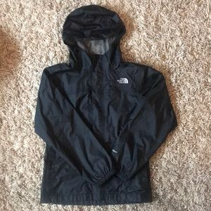 NEW The North Face Zipline rain jacket - youth LG